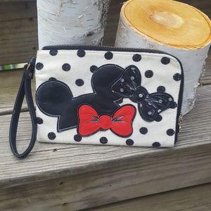 Minnie Mouse Wristlet